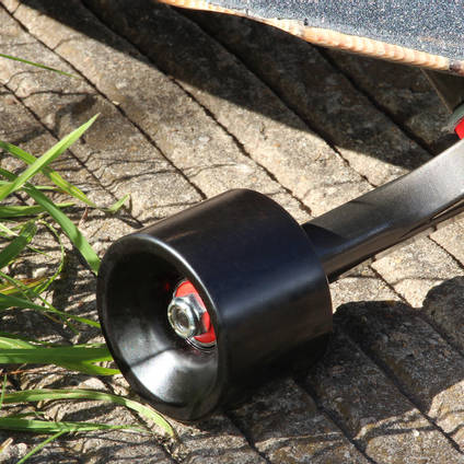 Black Pigmented Skateboard Wheel